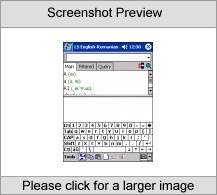 LingvoSoft Talking Dictionary English <-> Romanian for Pocket PC Screenshot